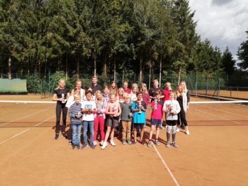 Vereinsmeisterschaften der Kinder und Jugendlichen 2019