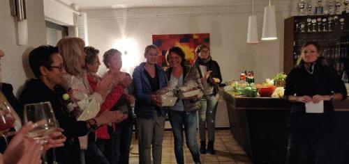 Siegerehrung Vereinsmeisterschaften Damen